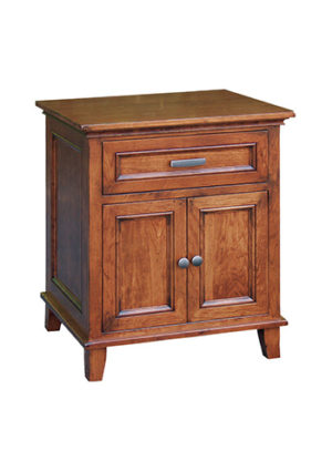 Brooklyn 620 1 Drawer 2 Door Nightstand
