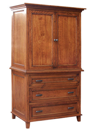 Brooklyn 626 2 Piece Armoire