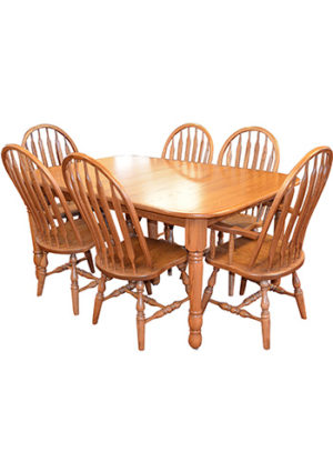 Country Harvest Dining Table