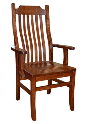 Craftsman Mission Chair with Arms