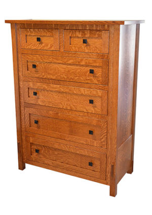 Heartland Mission Tall Dresser