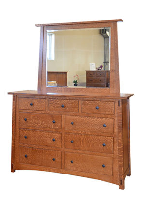 McCoy Dresser with Mirror
