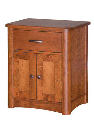 Meridian Drawer 1 Door Nightstand