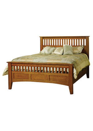 Mission Antique Bed