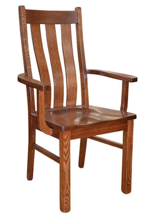 Salida Mission Chair with Arms