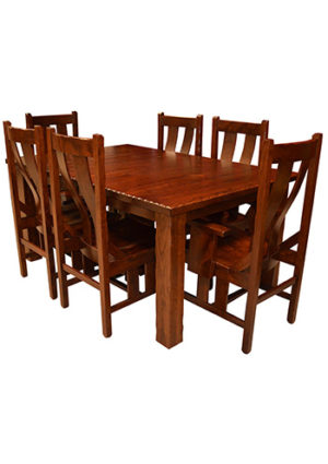 Western Mission Dining Table